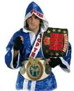 TOP TEN Boxing Robe (Blue)