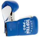 TOP TEN Competition gloves Pro-White Thumb - 2016, Blue