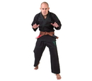 Fighter BJJ Gi Ripstop, Black - BJJBL-03