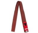 Fighter Karate Belt, Brown - FBK-08