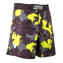 Fighter MMA Shorts Fighter SPEED, Black/Neon Camo