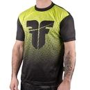 Fighter training T-Shirt - FTSF-01G, Black/Neon Green