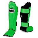 King Leather Profi Shin Guards - KPSGL-GRB