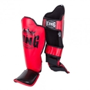 King Professional Shin Guards Color Series SGK-RRB