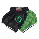 Booster TBT Thai Shorts - TBT-BG, Black/Green