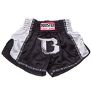 Booster Pro Thai Shorts - TBTPRO1-BW, Black/White
