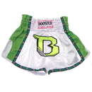 Booster Pro Thai Shorts - TBTPRO2-WG, White/Green