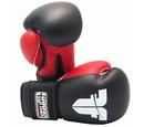 Fighter Boxing Gloves, Black/Red - TH1611BLKR