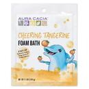 Aura Cacia 188595 Cheering Tangerine & Sweet Orange Kids Foam Bath 2.5 oz.