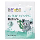 Aura Cacia 188597 Clearing Eucalyptus Kids Foam Bath 2.5 oz.