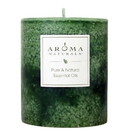 Aroma Naturals 215914 Holiday Fresh Forest Green Pillar 3