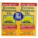 American Health 217195 Evening Primrose Oil 60 softgels twin pack