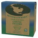 Beyond Gourmet 218858 Basket Style Unbleached Coffee Filters Basket