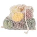 ECOBAGS 219588 Organic Medium Net Drawstring Bag 10