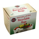 Culinary Accessories 223691 Recyclable Bags 50 (6 liter) count