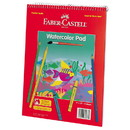 Faber Castell 225280 Watercolor Pad 9 x 12