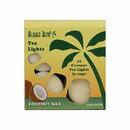 Aloha Bay 225440 Unscented Cream Tea Lights 12 pack