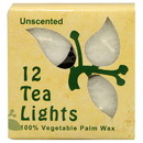 Aloha Bay 225441 Unscented White Tea Lights 12 pack