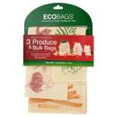 ECOBAGS 226580 3-Piece Produce & Bulk Bag Set Small, Medium, & Large