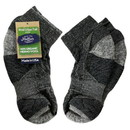 Maggie's Organics 227199 Black Urban Trail Ankle Socks 9-11