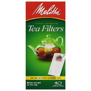 Melitta 227308 Unbleached Loose Tea Filter