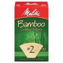 Melitta 227310 Bamboo #2 Cone Coffee Filters #2 Cone