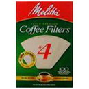 Melitta 227311 Natural #4 Cone Coffee Filters #4 Cone