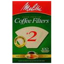 Melitta 227312 Natural Brown #2 Cone Coffee Filters #2 Cone