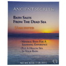Ancient Secrets 227356 Unscented Mineral Bath 1 lb