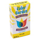 Color Garden 228181 Yellow Natural Food Coloring 5 (6g) packets