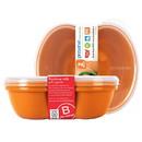 Preserve 228462 Orange Sandwich Container Sandwich