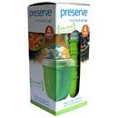 Preserve 228465 Food Storage Apple Green Mini Bowls 4 count Mini