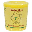 Aloha Bay 228577 Protection Yellow Chakra Votive Candles 12 count