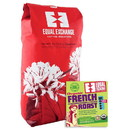Equal Exchange 228662 Organic French Roast Whole Bean Coffee 5 lb.