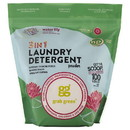Grab Green 229533 Water Lily 3-in-1 Laundry Powder with Scoop 100 Loads