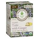 Traditional Medicinals 230731 Organic Tulsi with Ginger Tea 16 tea bags