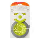 Full Circle 232070 Green/Slate Sinksational Sink Strainer with Pop-Out Drain Stopper