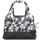 Chicobag 233254 Gray Triangles Matrix Vita Abstract Reusable Shopping Bag 19
