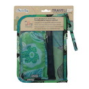 Chicobag 233289 Aqua & Navy Aqua Dreams 3 Count Reusable Travel Zip 9.5