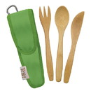 To-Go Ware 233317 Kiwi Green Reusable RePEaT Utensil Sets for Kids