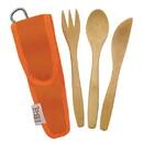 To-Go Ware 233319 Orange Reusable RePEaT Utensil Sets for Kids
