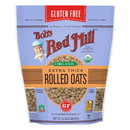 Bob's Red Mill 234167 Gluten-Free Organic Thick Rolled Oats 32 oz. resealable bag