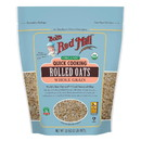 Bob's Red Mill 234172 Organic Quick Rolled Oats 32 oz. resealable bag