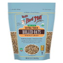 Bob's Red Mill 234175 Organic Thick Rolled Oats 32 oz. resealable bag