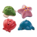 Plan Toys 234327 Sea Life Bath Set for 6+ months