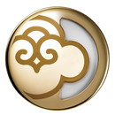 SERENE HOUSE 234768 Gold Yoyo Personal Aromatherapy Diffuser