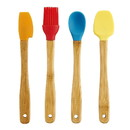 Mrs. Anderson's Baking 234801 Mini Bamboo Tool Set 4 piece