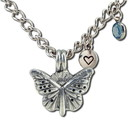 Aromatherapy Accessories 235112 Butterfly Diffuser Bracelet 7.5