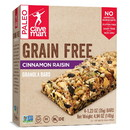 Caveman Foods 235345 Grain-Free Cinnamon Raisin Granola Bar 4 (1.23 oz.) bars