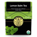 Buddha Teas 235518 Lemon Balm Organic Herbal Tea 18 tea bags